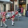 На входе ресторана Cheese's Art (Барселона)