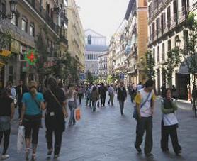 Проспект Саламанка в Мадриде