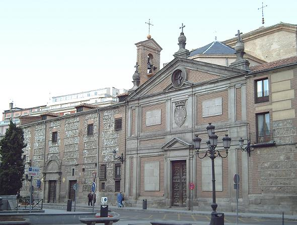 Фасад монастыря Дескальсас-Реалес