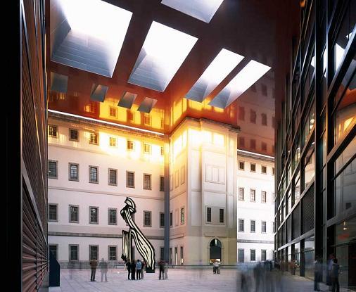 museo Reina Sofia inside
