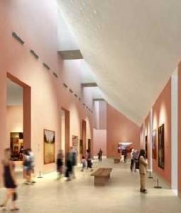 museo Thyssen inside
