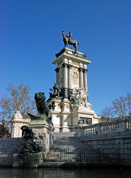 великолепный парк Ретиро в Мадриде