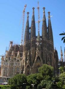 Церковь Sagrada Gaudi