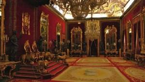 Королевский дворец в Мадриде. Тронный зал (Salon del Trono)