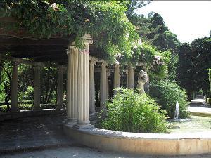 фото Королевских садов в Валенсии