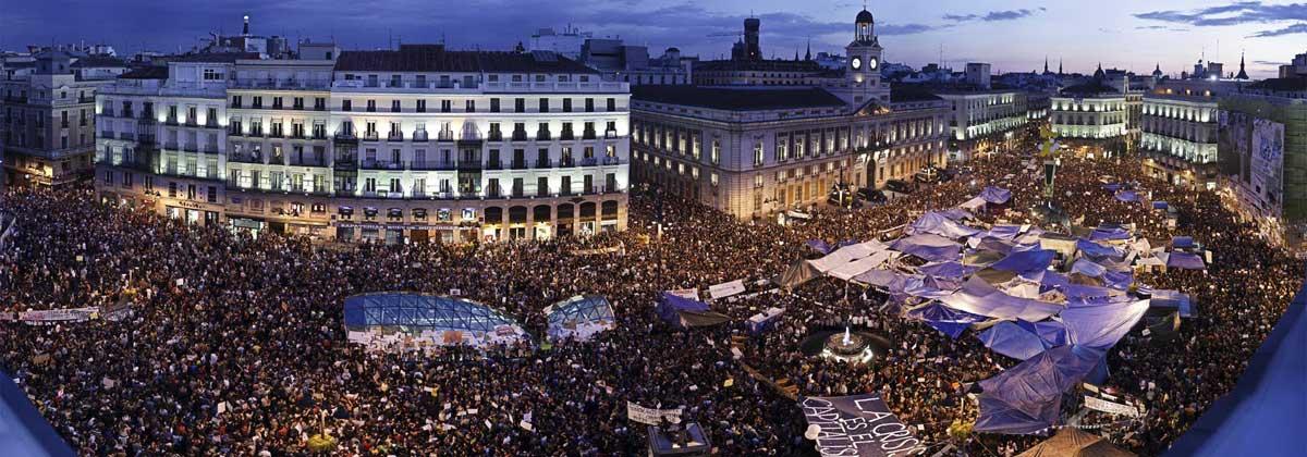 фото площади Пуэрта дель Соль