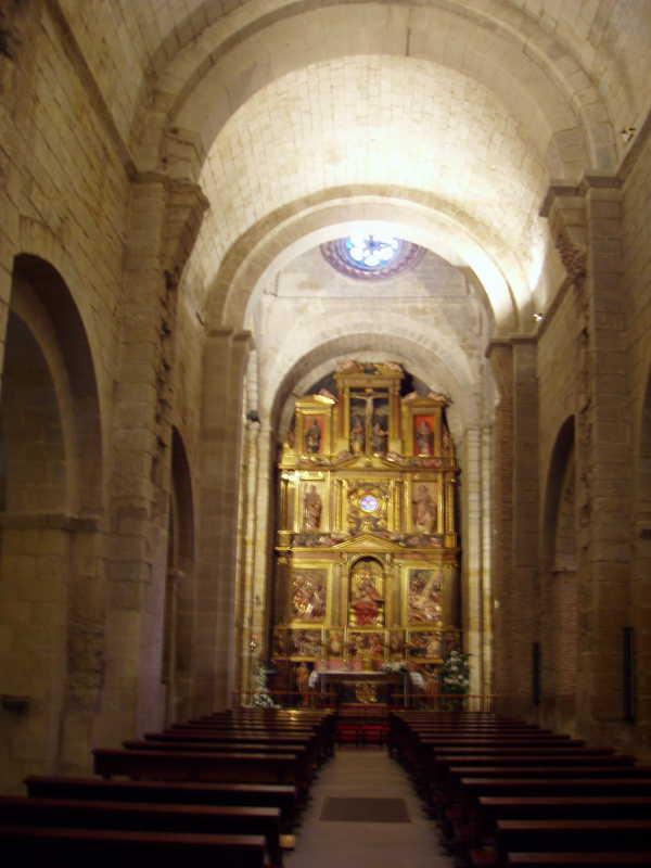 Внутри Сан Педро эль Веджо