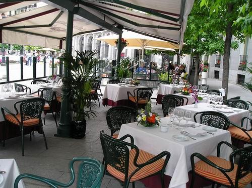 Cafe de Oriente Терраса