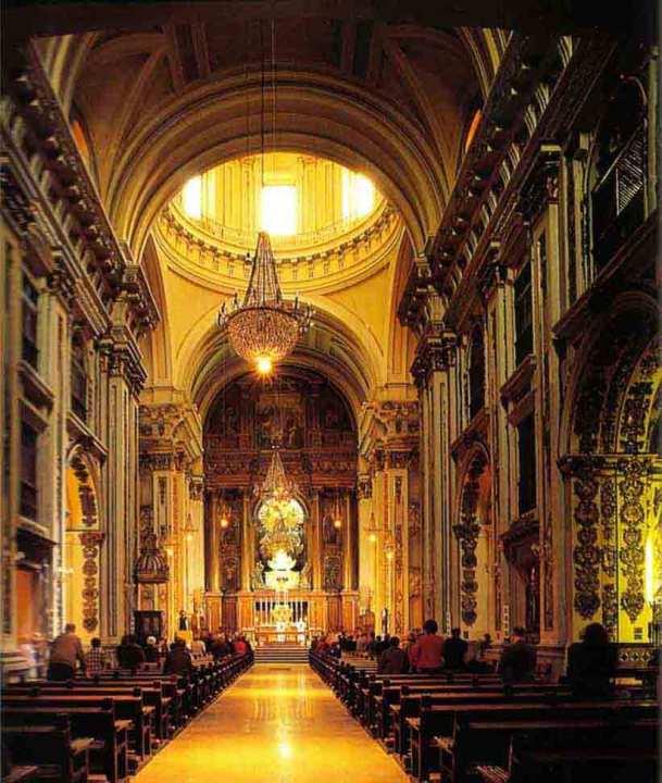 Церковь Iglesia de San Andres в Мадриде