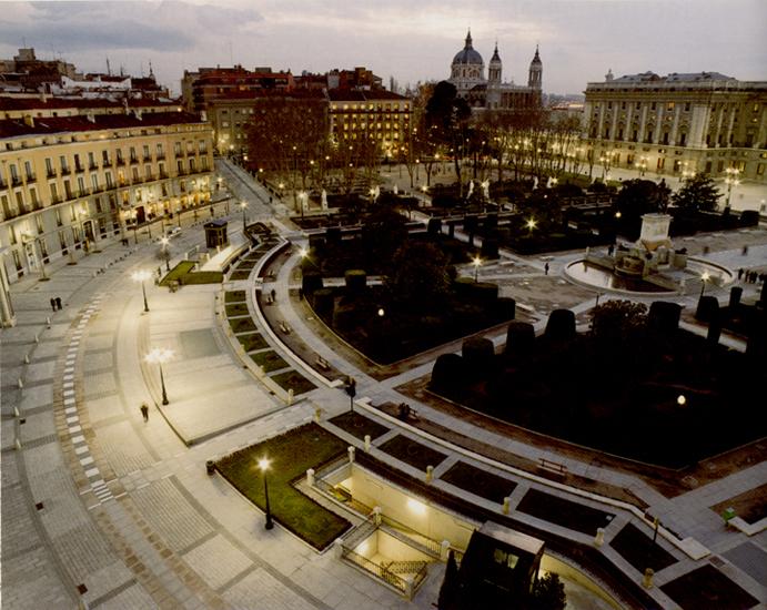 Plaza de Oriente кафедральный собор