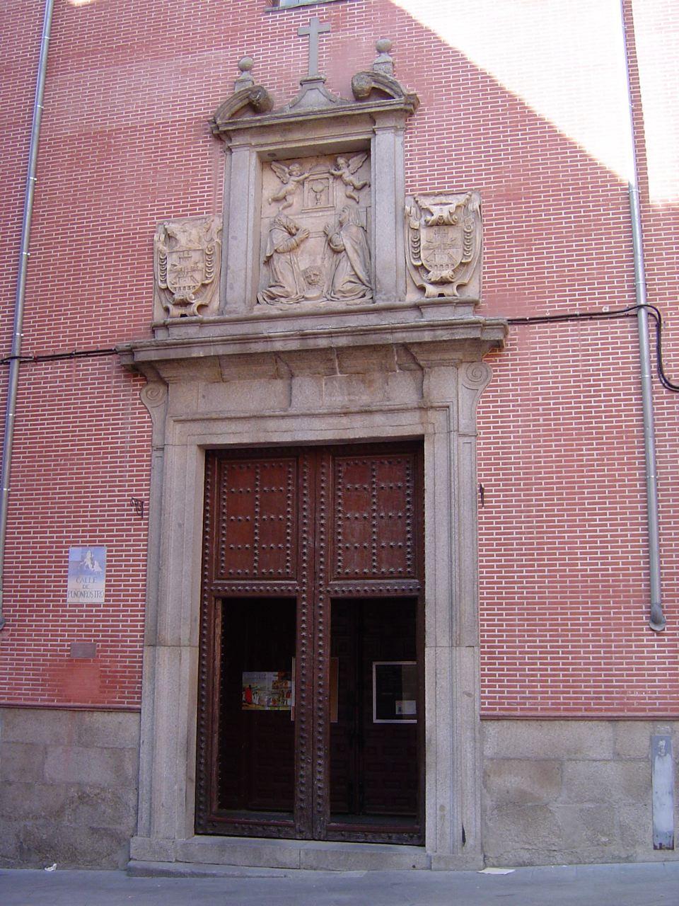 entrance Convento de las Carboneras Madrid
