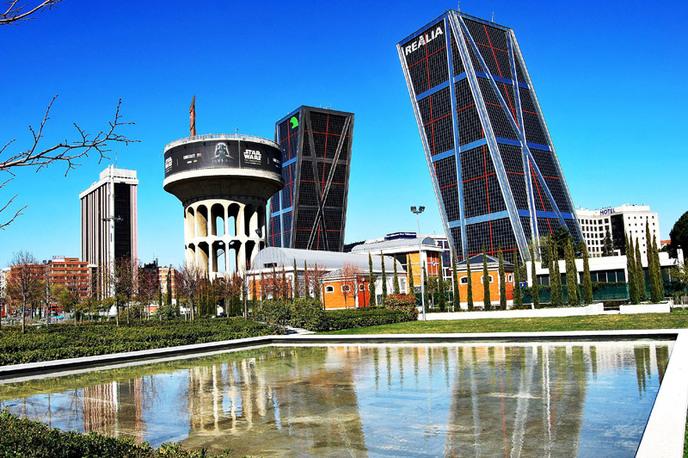 Ворота в Европу в Мадриде