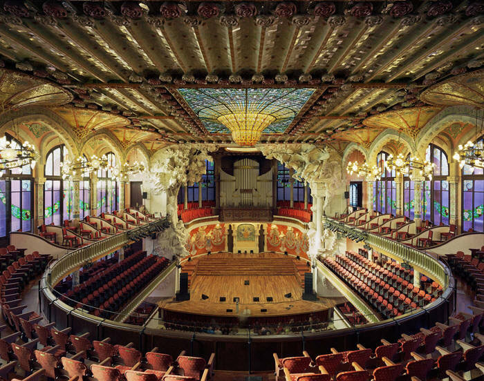 Дворец Каталонской музыки1