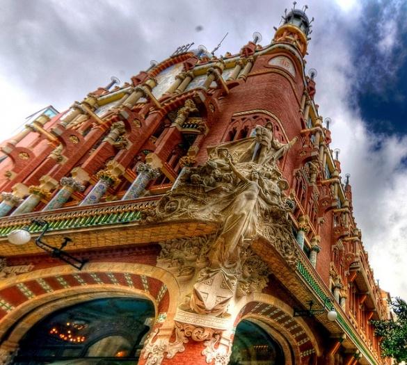 Дворец Каталонской музыки3