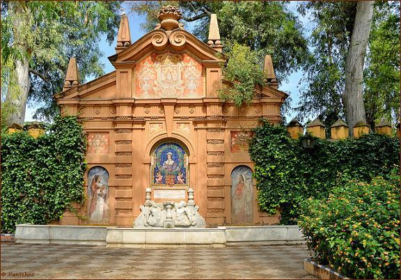 Sevilla : Los jardines Murillo