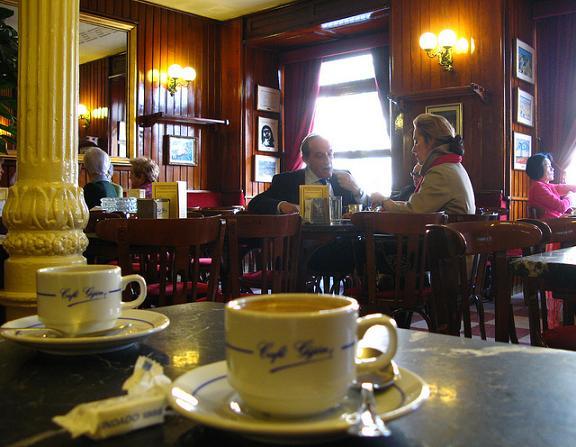 Кафе Gijon в Мадриде