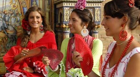 Красотки на ярмарке Севильи