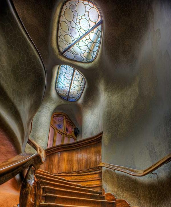 Лестница в доме Бальо