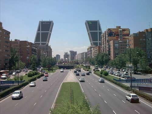 Мадридские Ворота Европы