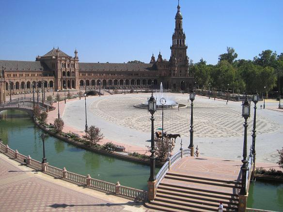 Площадь Испании Севилья Испания