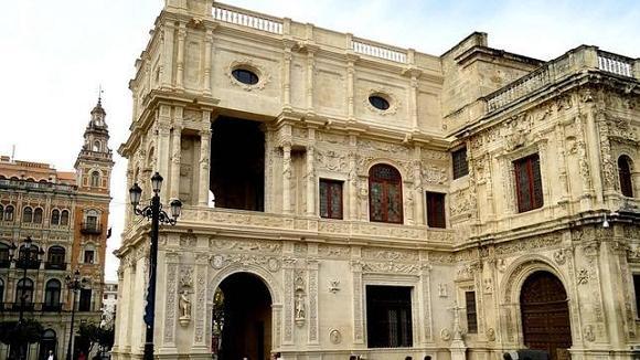 Фасад Муниципалитета Севильи