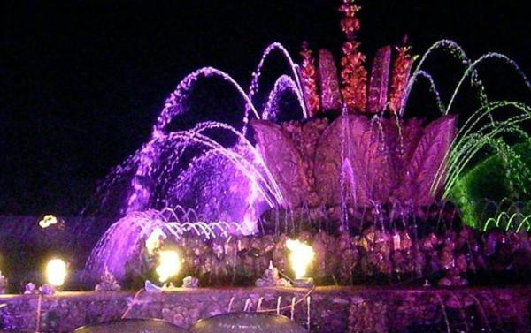 Фото поющих фонтанов