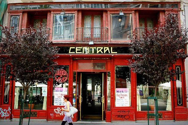 кафе Central в Мадриде