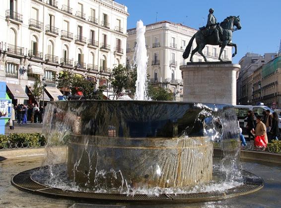 площадь Пуэрта-дель-Соль в Мадриде