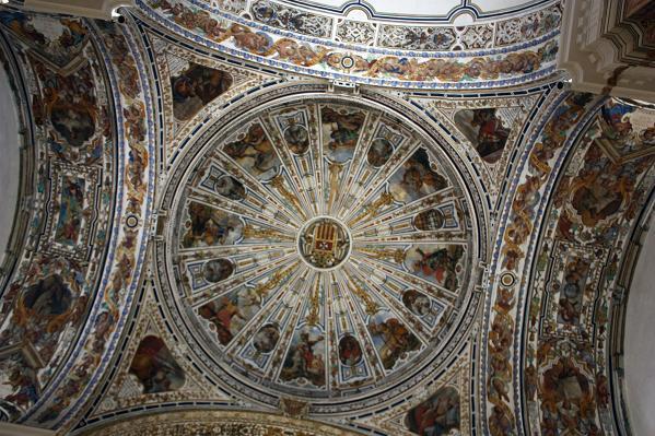 потолок в музее изящных искусств