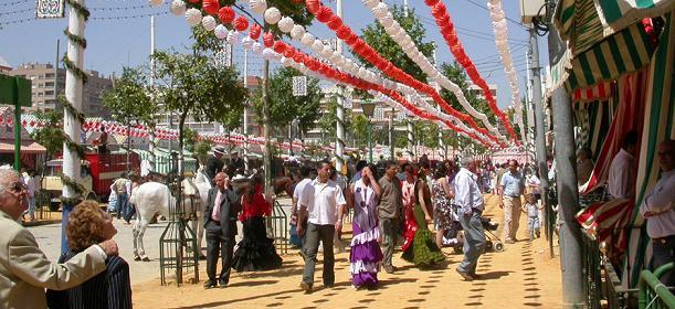 ярмарка Севильи 2013