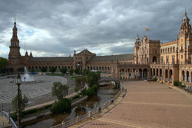 Plaza Espana Sevilla панорама