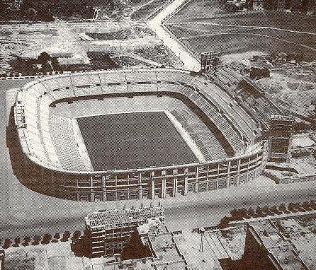 Стадион Сантьяго Бернабеу в 1955