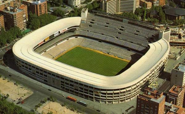 стадион Сантьяго Бернабеу 1980-е