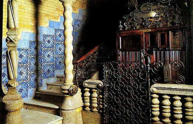Дом Кальвет, внутри