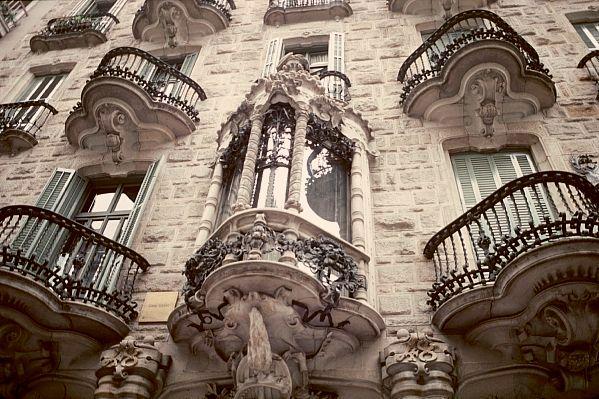 Дом Кальвет в Барселоне