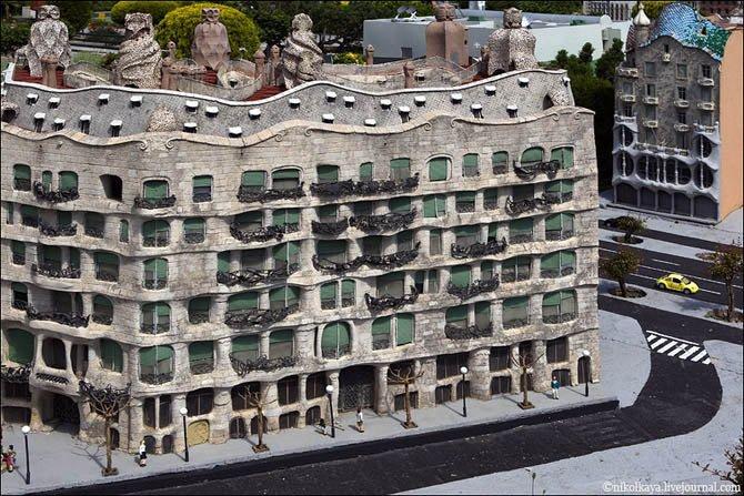 Дом Мила в миниатюре