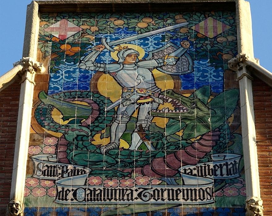 Дом Террадес с шипами в Барселоне