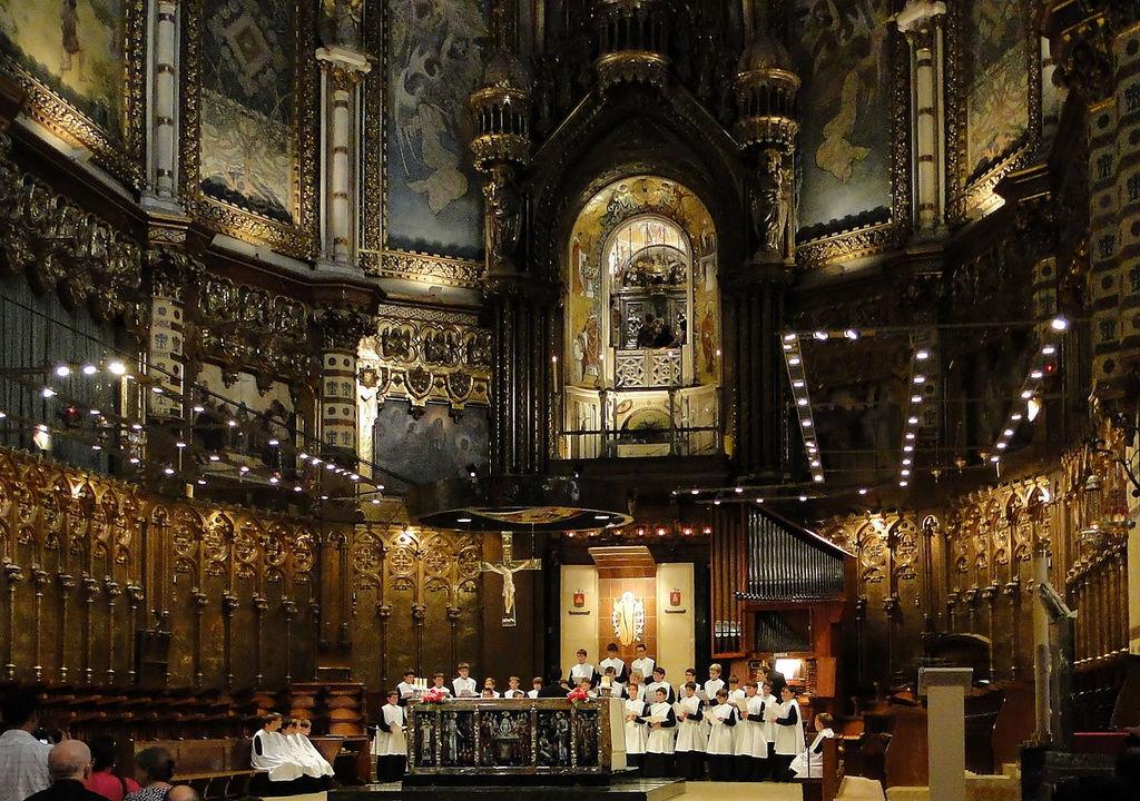 Монастырь в Испании. Монтсеррат