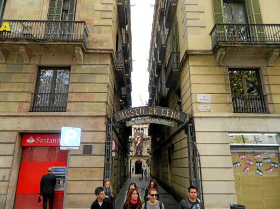 Музей восковых фигур, Барселона