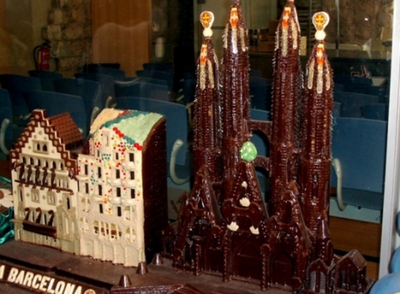 Музей шоколада в Барселоне 1