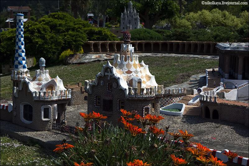 Парк Гуэль в миниатюре