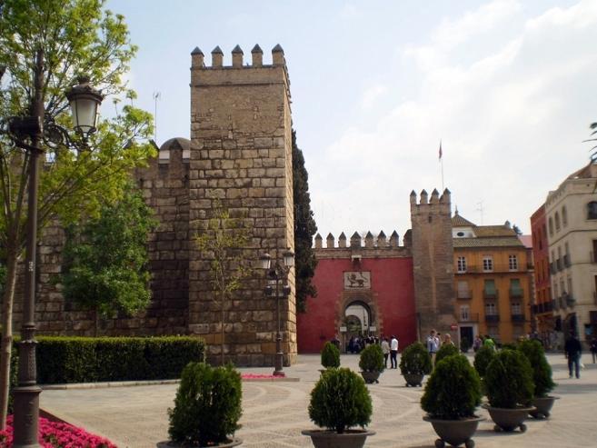 Триумфальная площадь Севильи