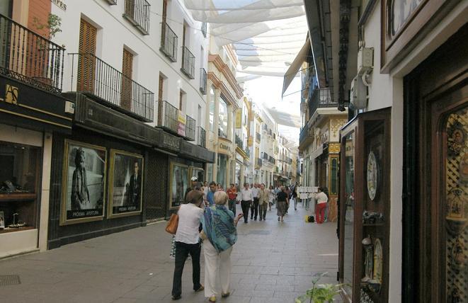 Улица Сьерпес Севилья