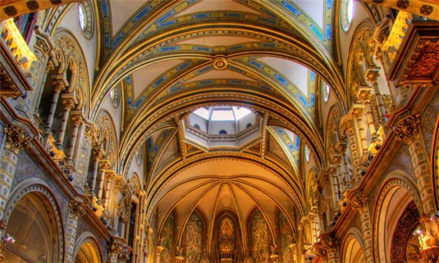 испания монастырь монтсеррат фото