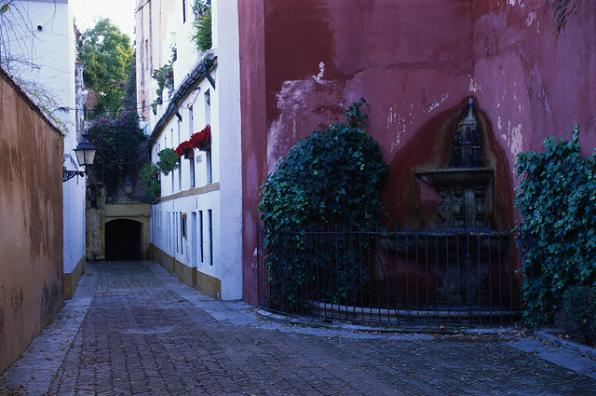 Улочки квартала Санта Крус