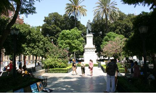 Статуия Мурилло