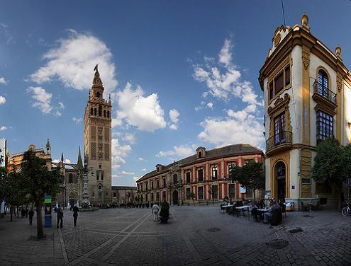 Фотография площади Вирхен де лос Рейес