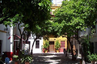 Район Санта Крус в Севилье