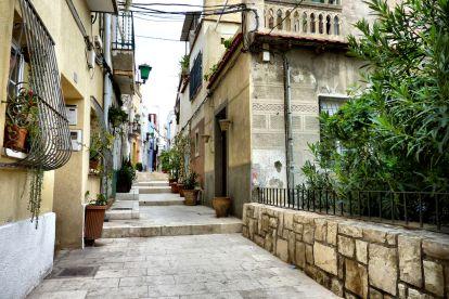 Фото улиц район Санта Крус