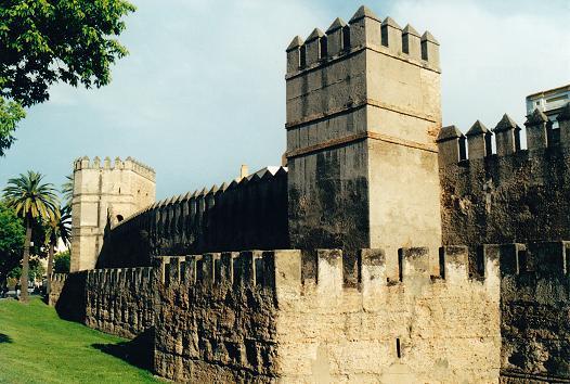 Городские стены Севильи